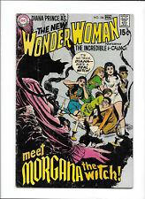 "WONDER WOMAN #186 [1970 VG+] ""MEET MORGANA THE WITCH!"""