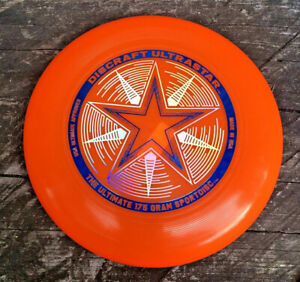 Discraft Ultra-Star 175g Ultimate Frisbee Disc - Orange