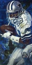 Michael Irvin Autographed Limited Edition Fine Art Print Signed Cowboys