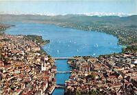 B31693 Zurich mit Zurichsee und die Alpen  switzerland