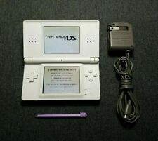 Nintendo DS Lite Console Polar White with Charger and Stylus