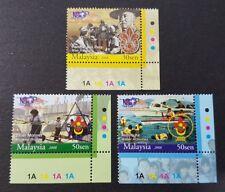 2008 Malaysia Scouts Association Centenary Celebration 3v Stamps Set BR corner