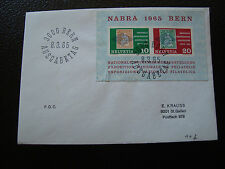SUISSE - enveloppe 8/3/1965 (cy67) switzerland