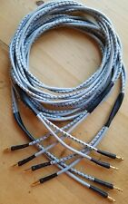 Genuine Vintage Western Electric KS.13385L-1 10AWG Speaker Cables 6ft Pair