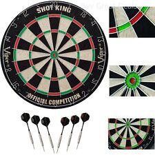 Viper Shot Dartboard King Bristle Darts Official Game Fiber Sized Dart Board NEW