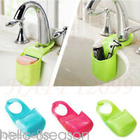 Creative Home Gadget Folding Kitchen Bathroom Silicone Hanging Storage Box