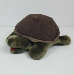 Folktails Folkmanis Turtle Plush Hand Puppet Furry Folk Puppets Full Body