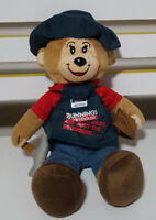 BELINDA THE BUNNINGS BEAR HAMMER AND WOOD SOFT TOY PLUSH TOY 30CM TALL!