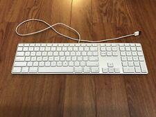 Apple Wired Aluminum Keyboard Dedicated Numerical Keypad