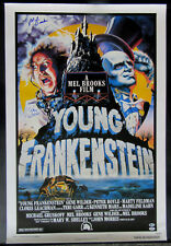 Gene Wilder + Mel Brooks Signed Young Frankenstein Full Size Movie Poster PSA