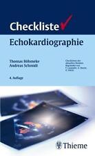 Checkliste Echokardiographie von Andreas Schmidt und Thomas Böhmeke (2008, Kunst