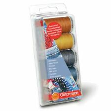 Gutermann Extra Strong Jeans Thread Set - 3x 100m & 2x 200m Reels - Seams