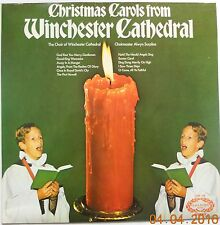 Christmas Carols From Winchester Cathedral 1972 EXCELLENT Stereo LP