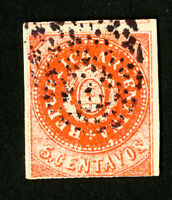 Argentina Stamps # 7H VF Used Scott Value $32.50
