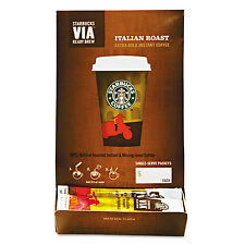 Starbucks VIA Ready Brew Coffee 3/25oz Italian Roast 50/Box 11008130