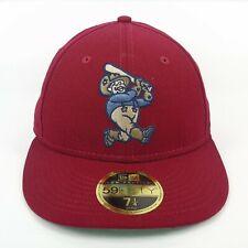 New Era Cap Men's MiLB Frisco RoughRiders Baseball Team 5950 Fitted Hat - 7 1/4