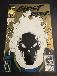 """Ghost Rider#15 Incredible Condition 9.4(1991) Glow In The Dark Cover""""2nd Print"""""""