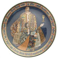 Minton the Arthurian Legend PERCEVAL ET GALAHAD la vision du Graal CP4