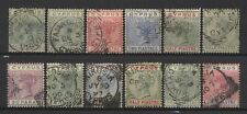 Cyprus Collection 12 QV Stamps Used