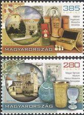 Hungría 2011 museos/Vidrio Cáliz/Farmacia buques/castillos/historia 2v Set n45739