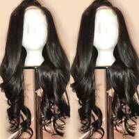 Natural Loose Wave Full Lace Wigs Indian Virgin Human Hair 360 Lace Front Wig Ss