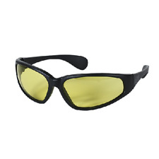 NEW! VooDoo Tactical 02-8598017000 Military Glasses, Black Frame/Yellow Lens