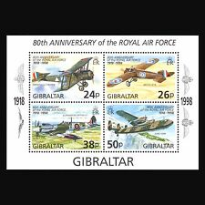 Gibraltar 1998 - Aviation Royal Air Force Airplanes Military War - Sc 227/8