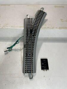 Bachmann HO scale Model Trains EZ Track System RH Electric Turnout Switch Ex