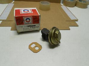 NOS GM DELCO 1973 1974 CORVETTE & CHEVY 454 ORIG INTAKE EGR VALVE W/ GASKET 350