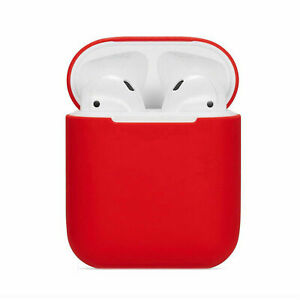 New Silicone TPU Soft Skin Case For Apple Airpods 2 1 Earphones Charger Cover