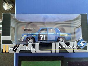 Renault 8 Gordini Racing 1968 Diecast model 1/18 Scale - Solido