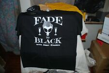 tee shirt  - Jimmy Church (  signed Baseball Hat ) And Fade To Black Tee Shirt