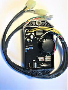 SPANNUNGSREGLER GENERATOR AVR 10 KW 10 Kabel 400V/ 470 UF auch 12/220/380V