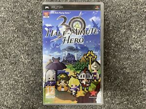 Half Minute Hero Playstation Portable PSP Complete UK PAL