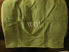 """Pottery Barn Kids Basic Solid Towel """"Will"""" Green New!"""