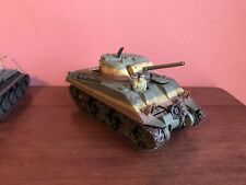 21st Century Toys Ultimate Soldier WWII US M4 Sherman Tank 1:32 Scale Model 2002