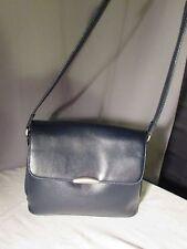 sac vintage texier cuir synthétique grainé noir