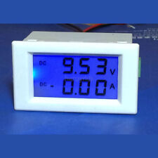 DC 0-600V 500A Voltmeter Ammeter LCD Panel Amp Digital Volt Gauge meter 12V/24V