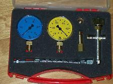 Pumpenprüfkoffer kompl.bestückt für Ölbrenner/Ölbrennerpumpe im Kunststoffkoffer