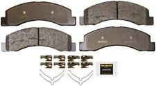 Disc Brake Pad Set-Total Solution Semi-Metallic Brake Pads Front Monroe DX824