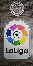 Parches LaLiga + Campeón LaLiga 17/18 para camiseta FC Barcelona (desde Madrid)