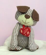 Harris puppy soft toy sewing pattern by pcbangles