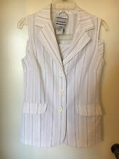 Womens Juniors Size 7/8 Skirt Suit Breaking' Loose White 2 piece