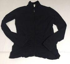 Lucy Women's Full Zip Jacket Size Medium M Black Yoga Athletic Active