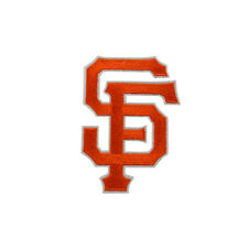 San Francisco Giants Applique Iron On Sew On Patch Clothing Embroidered Flower