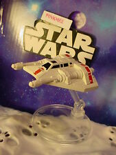 STAR WARS✰REBEL SNOWSPEEDER✰with flight stand✰Hot Wheels New LOOSE Starships