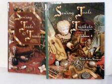 SEWING TOOLS & TRINKETS Books 1 & 2 Collector's Guide Prices thimbles scissors