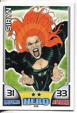 Marvel Hero Attax Series 1 Base Card #104 Siryn