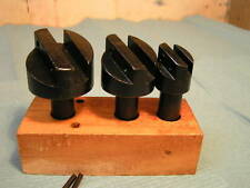 "3-piece Fly Cutter Set 1/2 "" Shank"