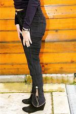pantalon slim stretch velours marine M&F GIRBAUD T 30 (40) NEUF ÉTIQUETTE